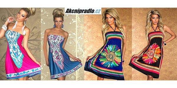 Letné trendy šaty s originálnymi vzormi