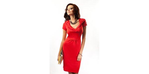 Dámske červené šaty Enny