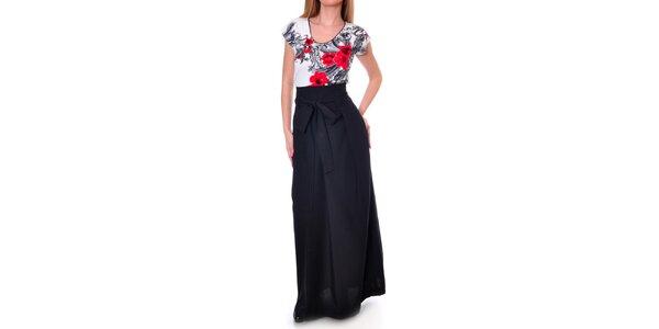 Dámká dlhá čierna sukňa Daka