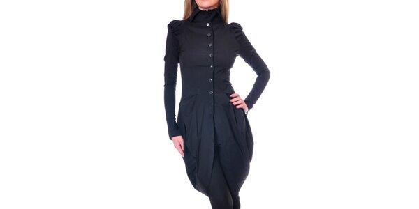 Dámsky čierny kabátik Daka