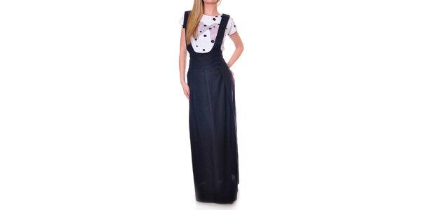 Dámska čierna sukňa s ramienkami DAKA