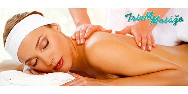 Klasická relaxačná masáž