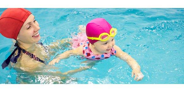 Mesačný kurz plávania mamičiek s bábätkami