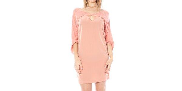 Dámske ružové šaty Nancy N.