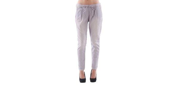 Dámske svetlo fialové džínsové nohavice Fornarina