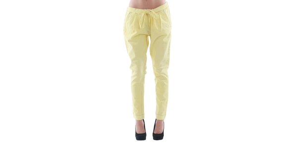 Dámske žlté džínsové nohavice Fornarina
