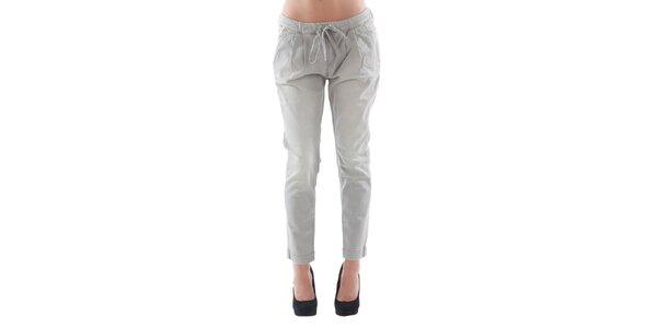 Dámske šedé džínsové nohavice Fornarina