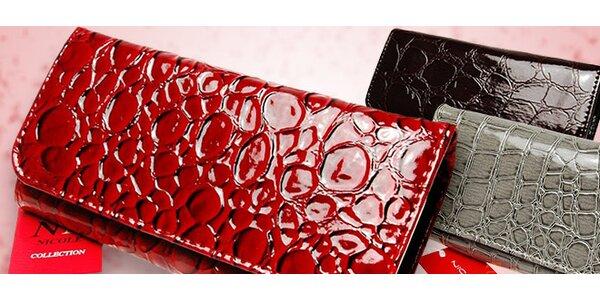 Dámske talianske peňaženky Nicole
