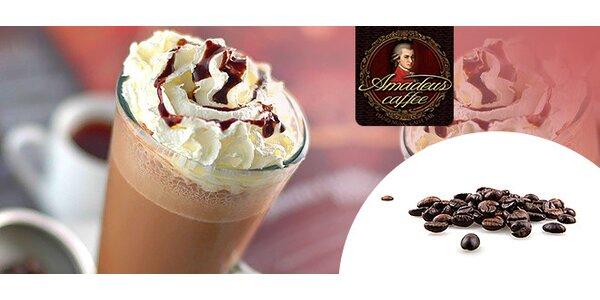 2x ľadová káva so zmrzlinou a šľahačkou