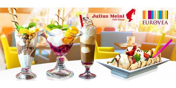 Lahodný zmrzlinový pohár v Eurovea