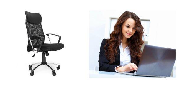 Pohodlné kancelárske kreslo