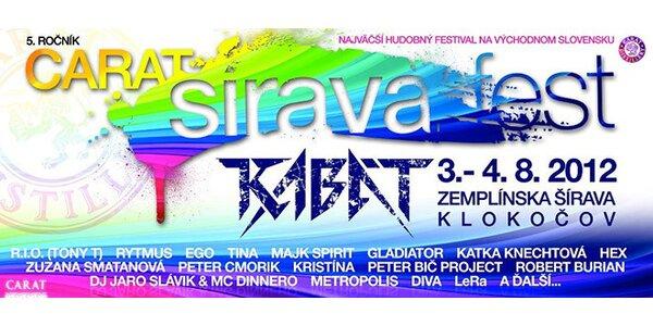 CARAT ŠÍRAVA FEST 2012