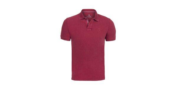 Pánske vínové polo tričko Giorgio di Mare