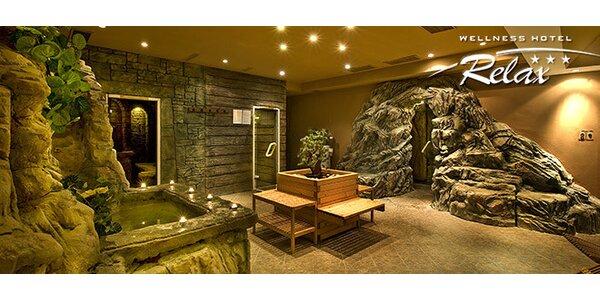 Dvojhodinový vstup do Vitálneho sveta vo Wellness Hoteli Relax***