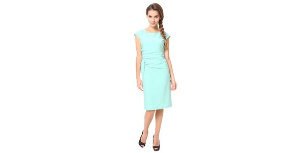 Dámske mentolové púzdrové šaty Moda Prym