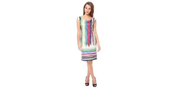 Dámske pestrofarebné šaty Moda Prym