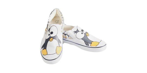 Dámske topánky s tučniakom The Bees