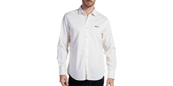 Pánska krémová košeľa Galvanni