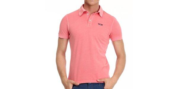Pánske korálové polo tričko Galvanni