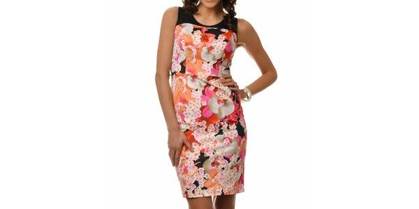 Dámske šaty s farebnými kvetinami Dia Vynne