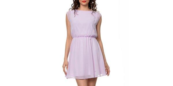 Dámske svetlo fialové šaty Dia Vynne