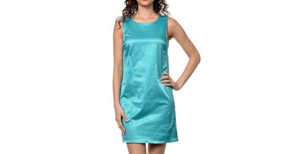 Dámske tyrkysové šaty bez rukávov Dia Vynne