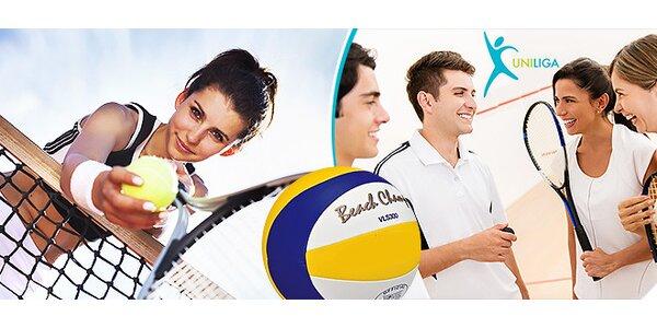 Zľavy do športovísk v Bratislave alebo aktívne členstvo v Unilige