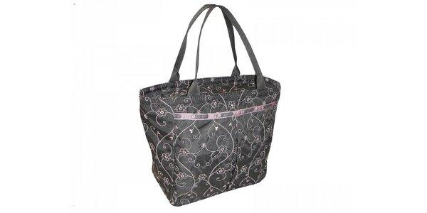 Dámska taška LeSportsac s ružovými detailmi