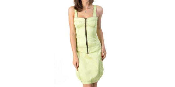 Dámske šaty so šnurovaním Avantgard