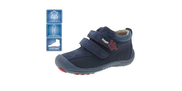 Detské tmavo modré topánky Beppi