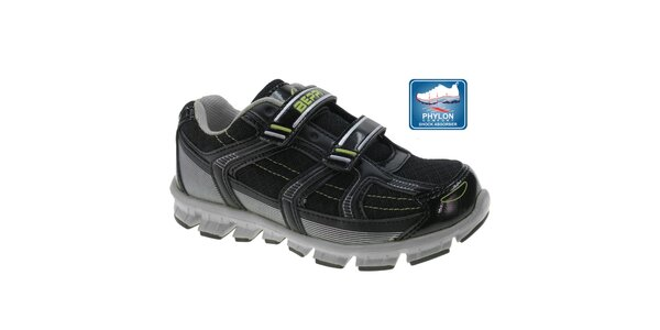 Detské čierne topánky Beppi