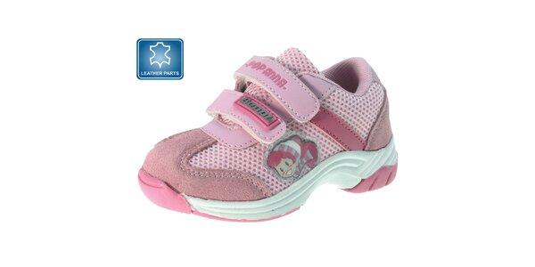 Detské ružové tenisky s obrázkom Beppi