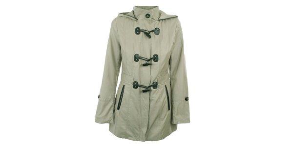 Dámsky svetlý krátky kabát Halifax