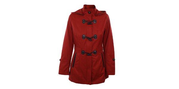 Dámsky červený krátky kabát Halifax