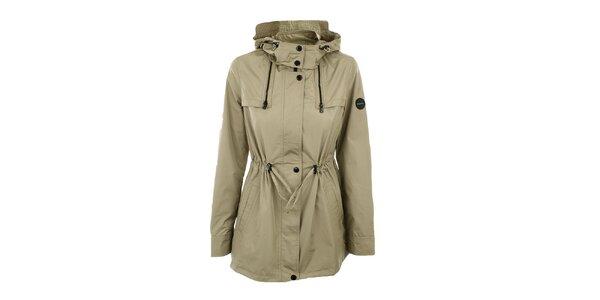 Dámska bunda s kapucňou a sťahovaním v páse Halifax