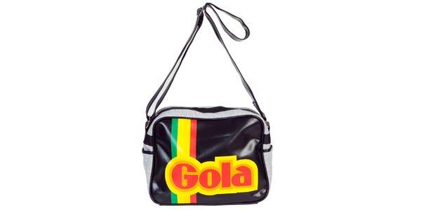 Retro taška s nápisom Gola
