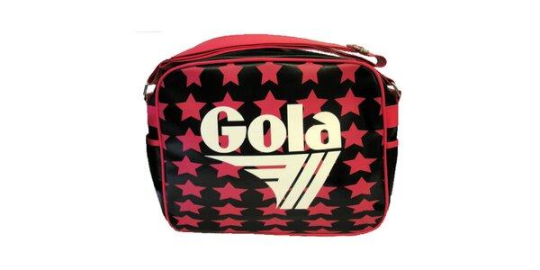 Retro taška s hviezdami Gola