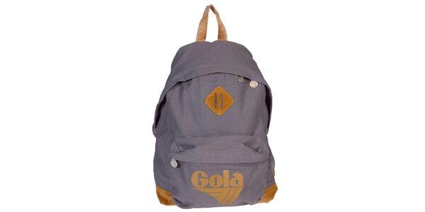 Šedý ruksak Gola