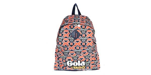 Pestrofarebný ruksak Gola