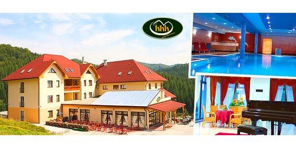 Rodinný wellness pobyt v Horskom hoteli Hájnice****