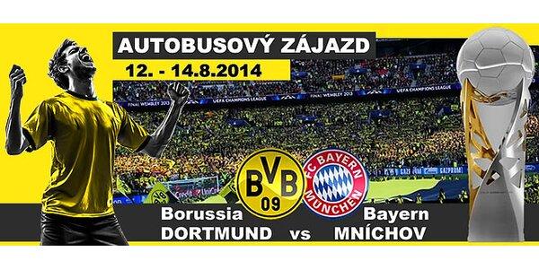 Autobusový zájazd na Dortmund - Bayern, 12.8. - 14.8., posledných 10 miest