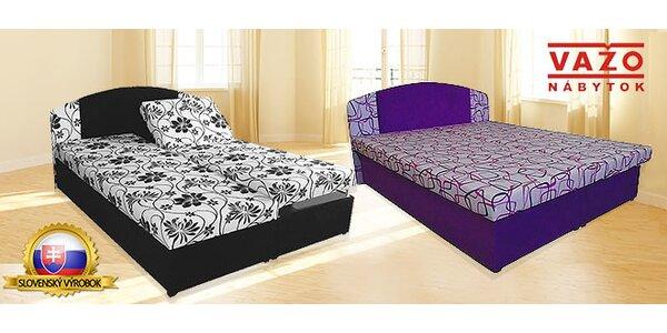 Kvalitné manželské postele