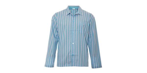 Pánska pyžamová košeľa Calvin Klein vo svetlo modrej farbe