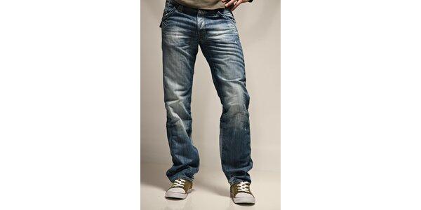 Pánske svetlo modré džínsy Energie
