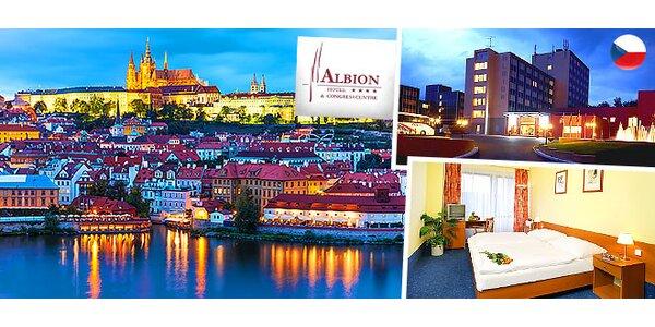 Pobyt pre 2 osoby v Hoteli Albion****, Praha