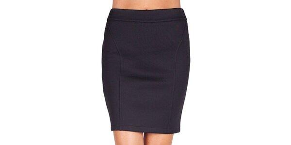 Dámska čierna púzdrová sukňa Sixie