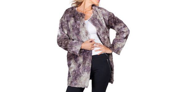 Dámsky dvojfarebný kabátik Sixie