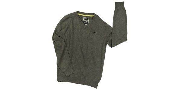 Pánsky zelený sveter 98-86