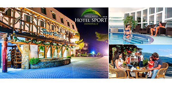 Najobľúbenejší Wellness Hotel Šport na Donovaloch