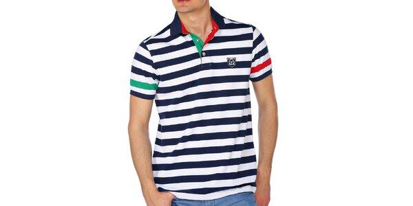 Pánske námornícke polo tričko M. Conte